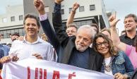 Acogen y celebran izquierdas disímbolas excarcelación de Lula