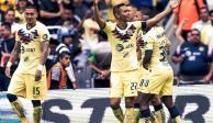 ¡Partidazo! America vence a Rayados con doblete de Nico Castillo