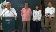 Gobierno responde a demanda de seguridad en Minatitlán, afirma López Obrador