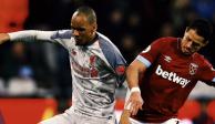 """Con """"Chicharito"""", West Ham le saca el empate 1-1 al líder Liverpool"""