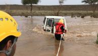 FOTOS: Inundaciones en Arabia Saudita dejan 12 muertos y 170 heridos