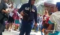 Suspenden asamblea de Morena en Huejutla tras disparos