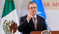 Anuncian reunión entre Ebrard y el secretario general de la ONU