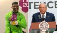 AMLO reconoce logros de atletas Panamericanos y Parapanamericanos