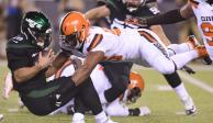 Video: Browns logra primer triunfo de la campaña tras vencer a Jets