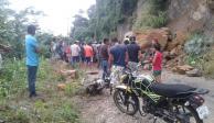 Deslave afecta a más de 500 familias en zona costera de Tabasco