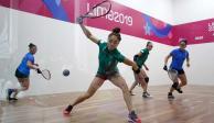 México gana su oro 25 en raquetbol y asciende al 3er lugar en Panamericanos