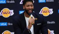 En Instagram, Davis se entera de traspaso a Lakers