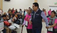 Vive gobernador Aureoles experiencia de migrantes reunificados