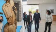 Del Mazo visita áreas remodeladas del Museo de Arte Moderno