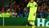 Aficionados le reclaman a Messi la eliminación en Champions League