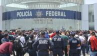 """Policías Federales exigen indemnización; lanzan llamado de """"auxilio"""""""