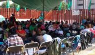 Suspenden sesión en Cámara de Diputados por protesta de campesinos