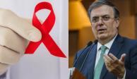 AMLO pide a Ebrard viajar por el mundo para conseguir antirretrovirales
