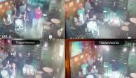 Asaltan a comensales en local de alitas en Tlalpan (VIDEO)