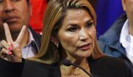 Presidenta interina de Bolivia descarta comunicación próxima con AMLO