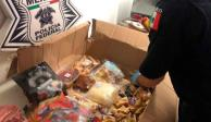 Decomisan droga en caja de dulces que sería enviada a EU