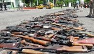 Tráfico de armas no cesa, con ellas, han matado a 721 elementos: Sedena