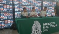 En el Tricolor descartan presión por ausencias para la Copa Oro