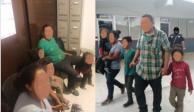 Rescatan a familia hondureña secuestrada en México