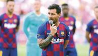 Messi cumple sueño de dos jóvenes fans (VIDEO)