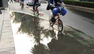 Las primeras lluvias dejan afectaciones en 10 alcaldías de la CDMX