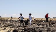 Cajas negras de avión siniestrado en Etiopía llegan a Francia