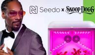 Snoop Dogg promueve máquina para cultivar mariguana