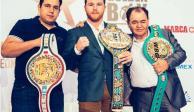 De la Hoya afina detalles para que Canelo pelee en México