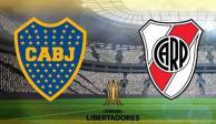 Boca Juniors y River Plate, por el pase a final de Copa Libertadores