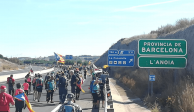 """Protestas en Cataluña suman 125 heridos; inician """"marchas por la libertad"""""""