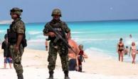 Disminuyen niveles de inseguridad en Quintana Roo, asegura López Obrador