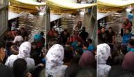 Usuarios del Metro pagan 5 pesos para evitar inundación en Acatitla