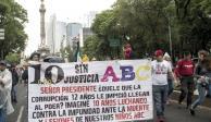 Promete AMLO justicia para caso ABC en 3 meses