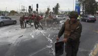 Chile con cientos de heridos y detenidos por protestas