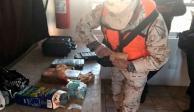 Asegura Sedena fentanilo y cocaína a bordo de autobús