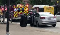 VIDEO: Reportan tiroteo frente al Tribunal Federal en Dallas
