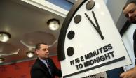 """El """"Reloj del Juicio Final"""" marca dos minutos para el fin del mundo"""