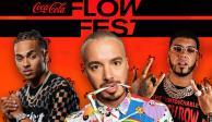 Este es el cartel del Flow Fest, el festival de perreo más grande de México