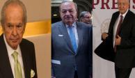Agradece AMLO apoyo de Slim, Baillères y Alemán frente aranceles de Trump