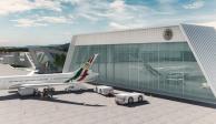 Hangar Presidencial en el AICM se convertirá en Terminal 3 del aeropuerto