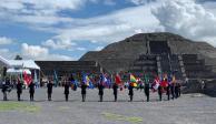 Comienza recorrido de Fuego Nuevo rumbo a Juegos Panamericanos