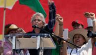 Las libertades no se consultan, se lucha por ellas: Sánchez Cordero