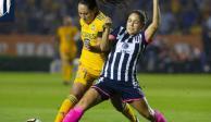Tigres y Rayadas empatan 1-1 en la ida de la final de la Liga Femenil