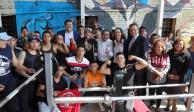 """En Naucalpan rehabilitan gimnasio al aire libre """"Las Barras Praderas"""""""