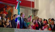 Encabeza Santiago Taboada el Grito de Independencia en Benito Juárez
