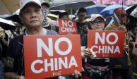 Hong Kong amaga con enturbiar Día Nacional de China