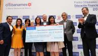 Entrega Citibanamex premio de Educación Financiera en décima edición