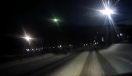 VIDEO: Observan extraño objeto luminoso en localidad de Siberia