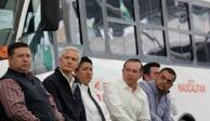 Modernización del transporte público, en beneficio de los mexiquenses: Del Mazo